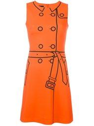 """платье с эффектом """"тромплей"""" Boutique Moschino"""