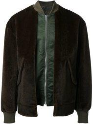 куртка-бомбер из искусственного меха Toga