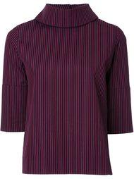 блузка с высоким воротником  Taro Horiuchi