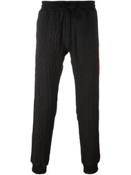 спортивные брюки с панелями клоке Christian Pellizzari