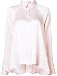 satin button down shirt Rosie Assoulin