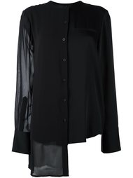 асимметричная рубашка  DKNY