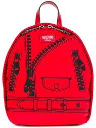 сумка-тоут с принтом Moschino