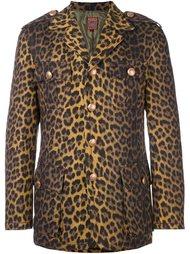 пиджак с леопардовым узором Jean Paul Gaultier Vintage