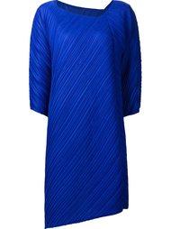 асимметричное платье Pleats Please By Issey Miyake