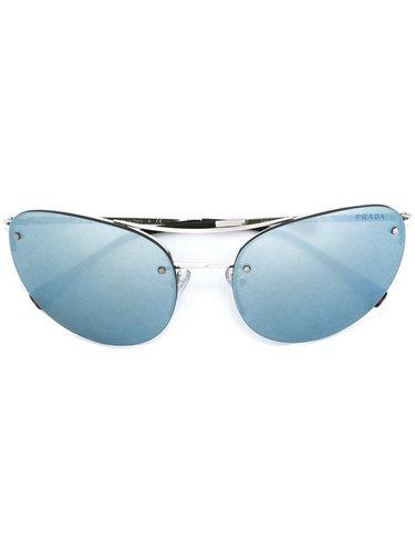 солнцезащитные очки авиаторы Prada Linea Rossa
