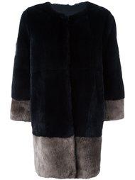 пальто из кроличьего меха Manzoni 24