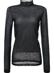 sheer mesh longsleeved T-shirt Loewe