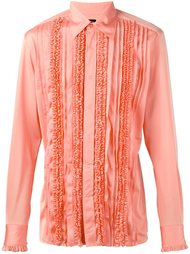 рубашка с оборками Jean Paul Gaultier Vintage