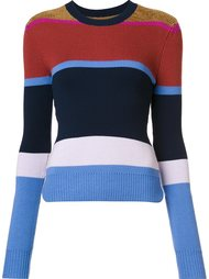 striped crew neck jumper Derek Lam 10 Crosby