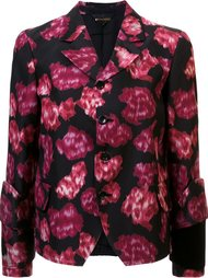 abstract print fitted jacket Comme Des Garçons
