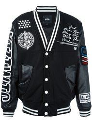 университетская куртка с нашивками  KTZ