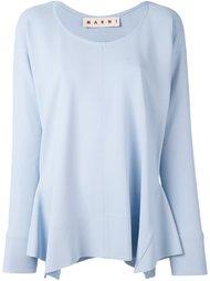 асимметричная блузка Marni