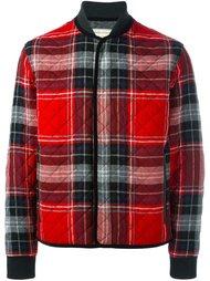клетчатая куртка Maison Kitsuné