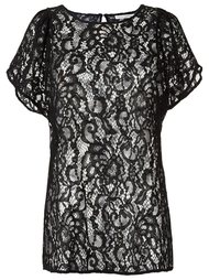 sheer lace blouse Martha Medeiros