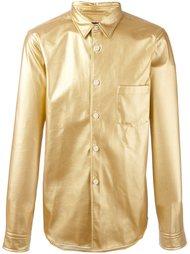 рубашка с эффектом металлик Comme Des Garçons Vintage