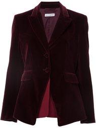 многослойный бархатный пиджак  Altuzarra
