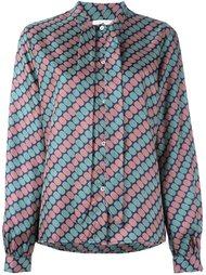 блузка с узором  Société Anonyme