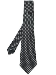 жаккардовый галстук с узором Z Zegna