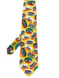 галстук с принтом Jean Paul Gaultier Vintage