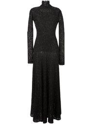 платье с открытой спиной Roberto Cavalli