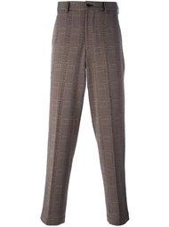 брюки в клетку Comme Des Garçons Vintage