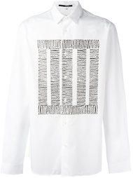 рубашка с принтом 'Block Thread' McQ Alexander McQueen