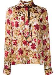 'Medieval Floral' shirt Alice+Olivia