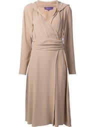 back crepe Carley Dress Ralph Lauren