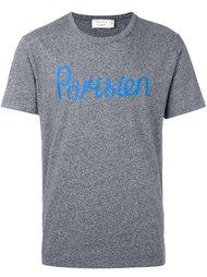 футболка 'Parisien' Maison Kitsuné