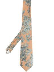 галстук с цветочным узором Jean Paul Gaultier Vintage