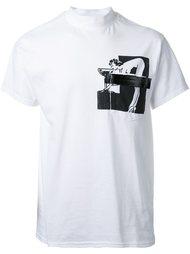 футболка с контрастным карманом Toga
