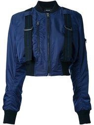 укороченная куртка-бомбер Diesel