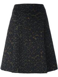 юбка А-силуэта с леопардовым принтом Steffen Schraut