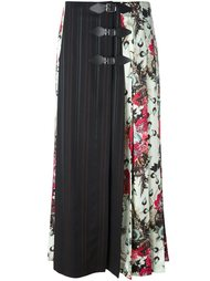 длинная юбка с панельным дизайном Antonio Marras