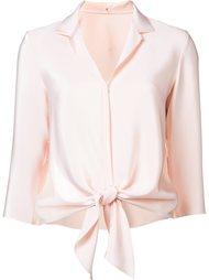 блузка с завязками на подоле Peter Cohen