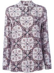 блузка с фигурным орнаментом Equipment