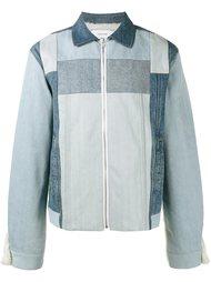 джинсовая куртка с панельным дизайном  Facetasm