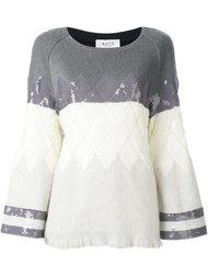 свитер с пайетками  Aviù