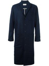 однобортное пальто Sunnei