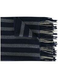 полосатый трикотажный шарф  Odeeh