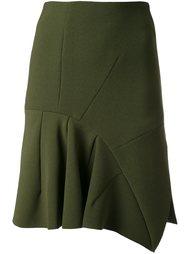юбка с панельным дизайном  Christopher Esber
