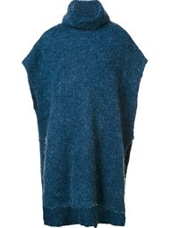 'Amadour' poncho By Malene Birger