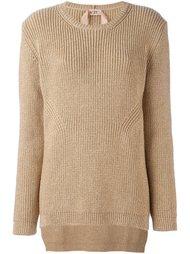 пуловер с эффектом блесток Nº21