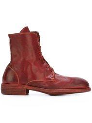 ботинки с закругленным носком Guidi