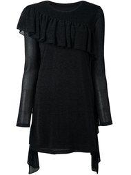 платье-свитер с бахромой Mm6 Maison Margiela
