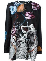 блузка с цветочным принтом  Vionnet