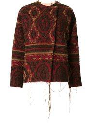 куртка с необработанными краями Uma Wang