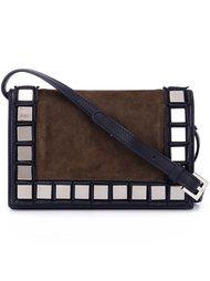 сумка с отделкой квадратными зеркалами Tomasini