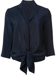 блузка с подолом на завязках Peter Cohen